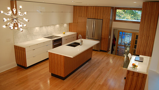 Functional and stylish kitchen